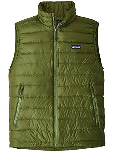 Verde Green Patagonia Uomo Gilet sprouted Down Tx1naHwqt
