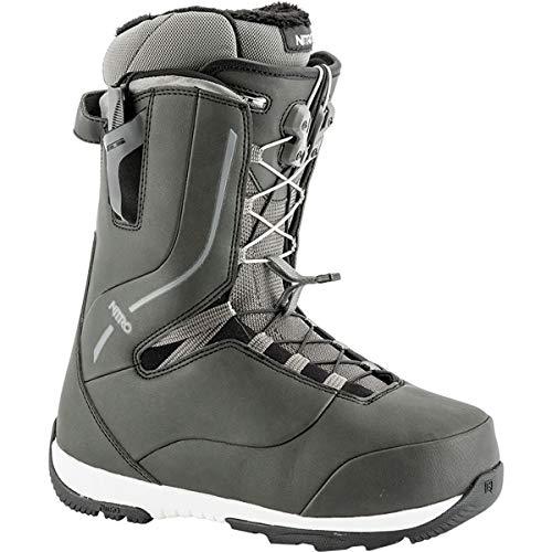 Nitro Crown TLS Snowboard Boot (Black, 8.5) - Women's - Nitro Snowboarding Boots
