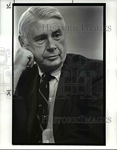 1988 Press Photo Ward Smith  Chairman Of Nacco Industries Inc   Cvb25404