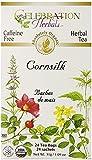 Celebration Herbals Organic Cornsilk Tea Caffeine Free -- 2 Pack (48 Bags Total)