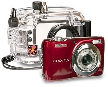 Ikelite 6280.22 Nikon Coolpix L22 carcasa submarina para ...