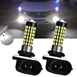 TUINCYN 900 Lumens 3014 78SMD LEDs Super Bright 894 881 886 889 896 898 LED Bulbs Universally Used Fog Light Daytime Running Light Automotive Driving Lamp DC 12V-24V 4W (Pack of 2)