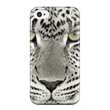 For Iphone Case, High Quality Snow Leopard For Iphone 4/4s Cover Cases