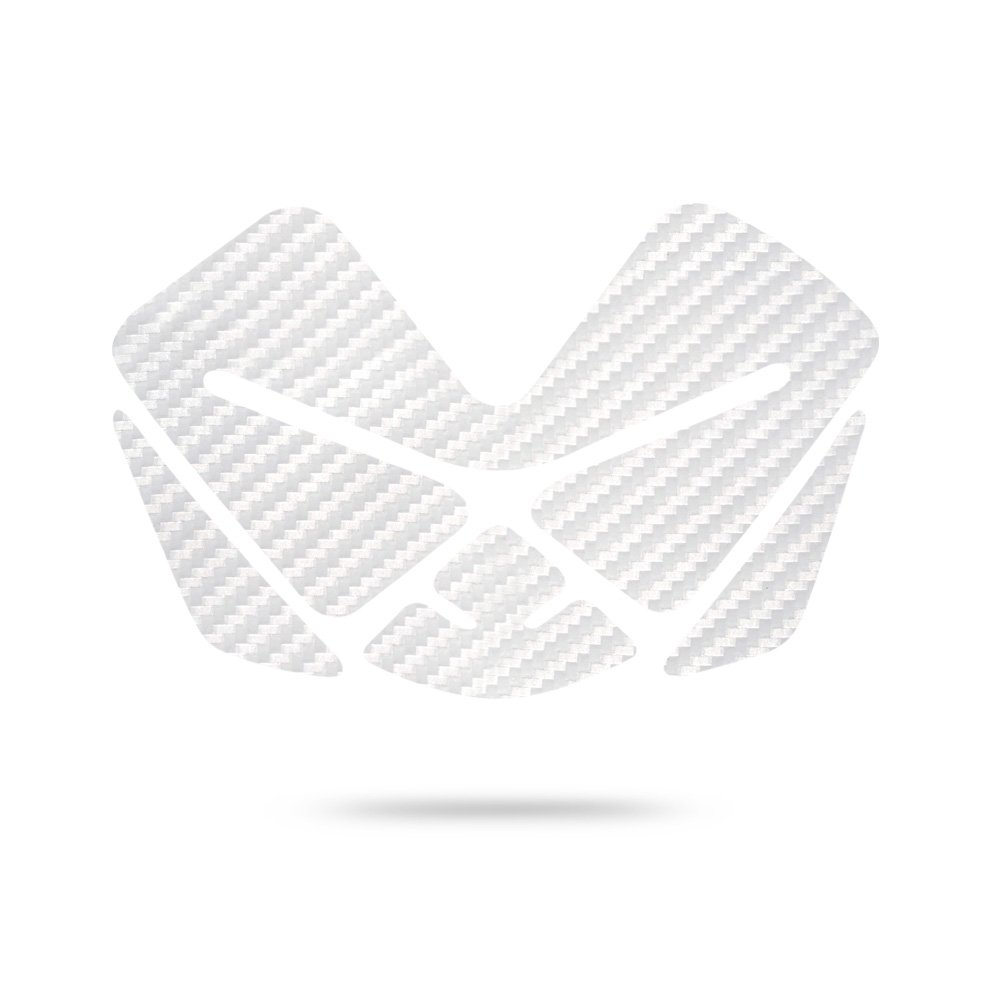 Lackschutz in 3 Farben erh/ältlich Aufkleber Pad f/ür Motorrad Tank Motoking Tankpad CARBON VILLAIN Tankaufkleber Tankschutz SCHWARZ