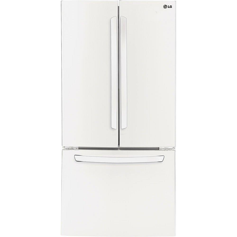 amazon com lg lfc24770sw 24 0 cu ft smooth white french door rh amazon com LG Bottom Freezer Fridge LG Refrigerator Parts