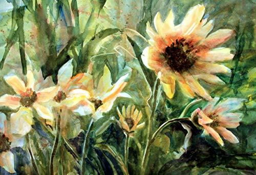 Sun and Wind - Sunflowers