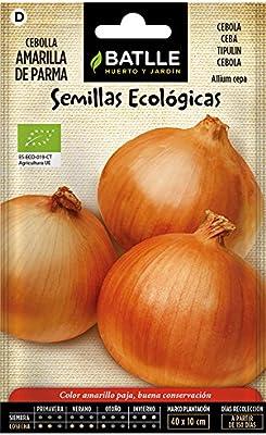 Semillas Ecológicas Hortícolas - Cebolla Amarilla de Parma - ECO ...