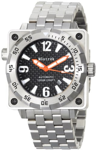 Montrek Men's M21.1223.M210 Square Diver Automatic Watch