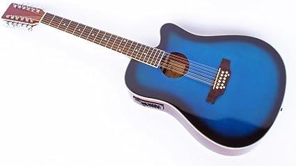 Cher rystone 4260180886177 Western de 12 cuerdas Guitarra con ...