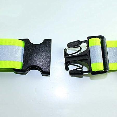 Wildlead Homme Femme LED Lumineux Ceinture réglable rechargeable USB  ceintures pour course Marche de cyclisme de nuit, Orange  Amazon.fr  Sports  et Loisirs fe1828bf895