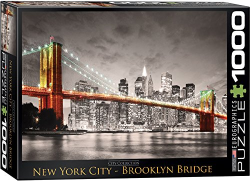 EuroGraphics New York City Brooklyn Bridge Puzzle (1000-Piece) (York Puzzles New)