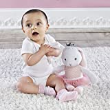 Baby Aspen, Brandy the Ballerina Bunny Plush with Socks for Baby