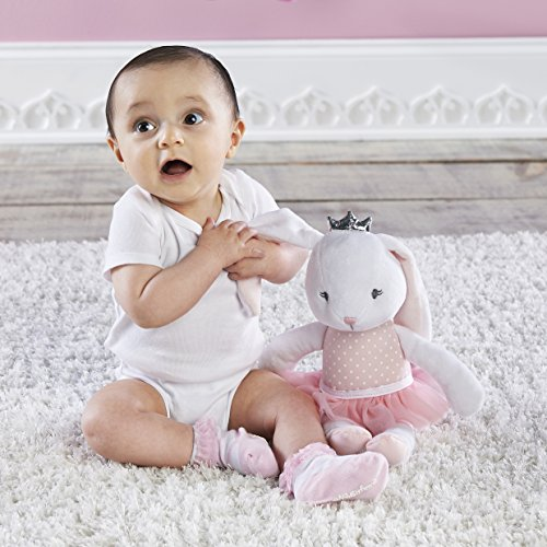 (Baby Aspen, Brandy The Ballerina Bunny Plush with Socks for Baby)