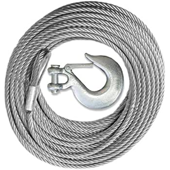 Amazon Com Billet4x4 Winch Cable Galvanized