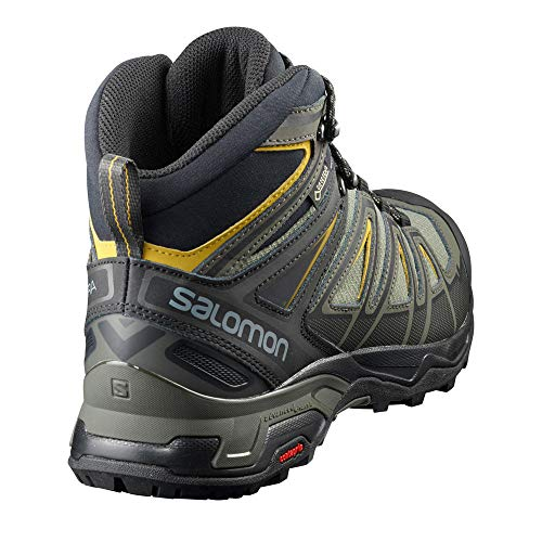 Mid Sulphur Wide Boots 3 Ultra Men's Black Green GTX Castor Hiking Gray X Salomon 4OHxwXqgaH