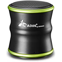 Bluetooth Speakers, GooDee B5 Mini Bluetooth Speaker 360 Degree Stereo Subwoofer Metal Speaker with NFC Function Green