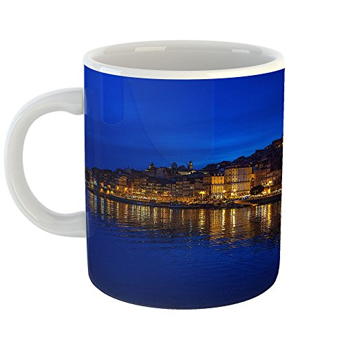 Westlake Art - Coffee Cup Mug - Porto Reflection - Modern Picture Photography Artwork Home Office Birthday Gift - 11oz (*-9-mf71-c0d)