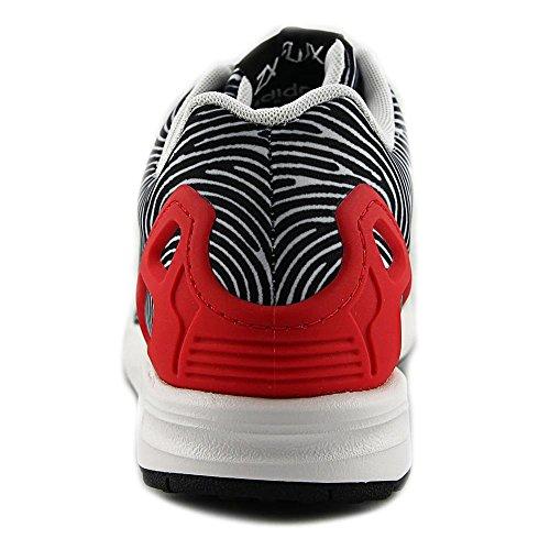 adidas zx flux blauw neon rood