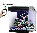 JBJ 28 Gallon Nano Cube WiFi LED Aquarium with Stand