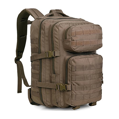 WIDEWAY Military Tactical Backpack 50L Survival Gear Backpacking Large Hydration Molle Bug Out Bag 3 Day Assault Pack Rucksacks Daypack for Outdoor Travel Hunting Camping Hiking Shooting - List Packing Road Trip Summer