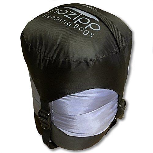 NOZIPP +15F Ultralight Zipperless Sleeping Bag