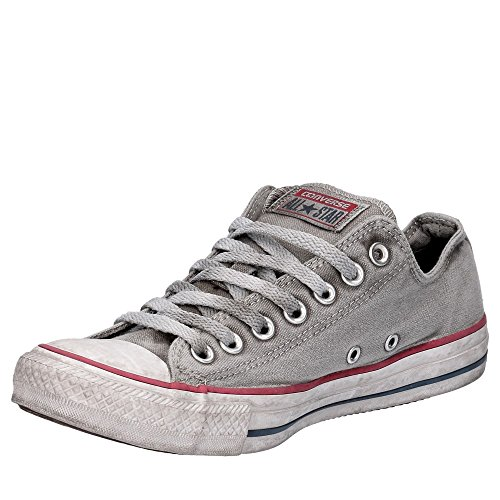 Sneakers Limited Edition Ltd Grigio Converse SS Canvas 18 Grey Ox Uomo Ctas 156892C 4gnWUA8On