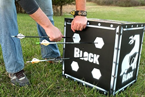 Block Vault 4-Sided Archery Target with Polyfusion Technology - Available in 4 Sizes!