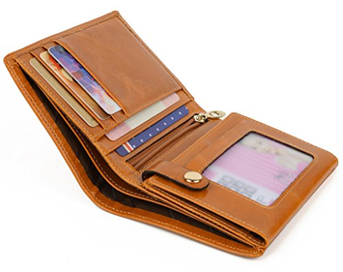 Zipped Compact Wallet - 5