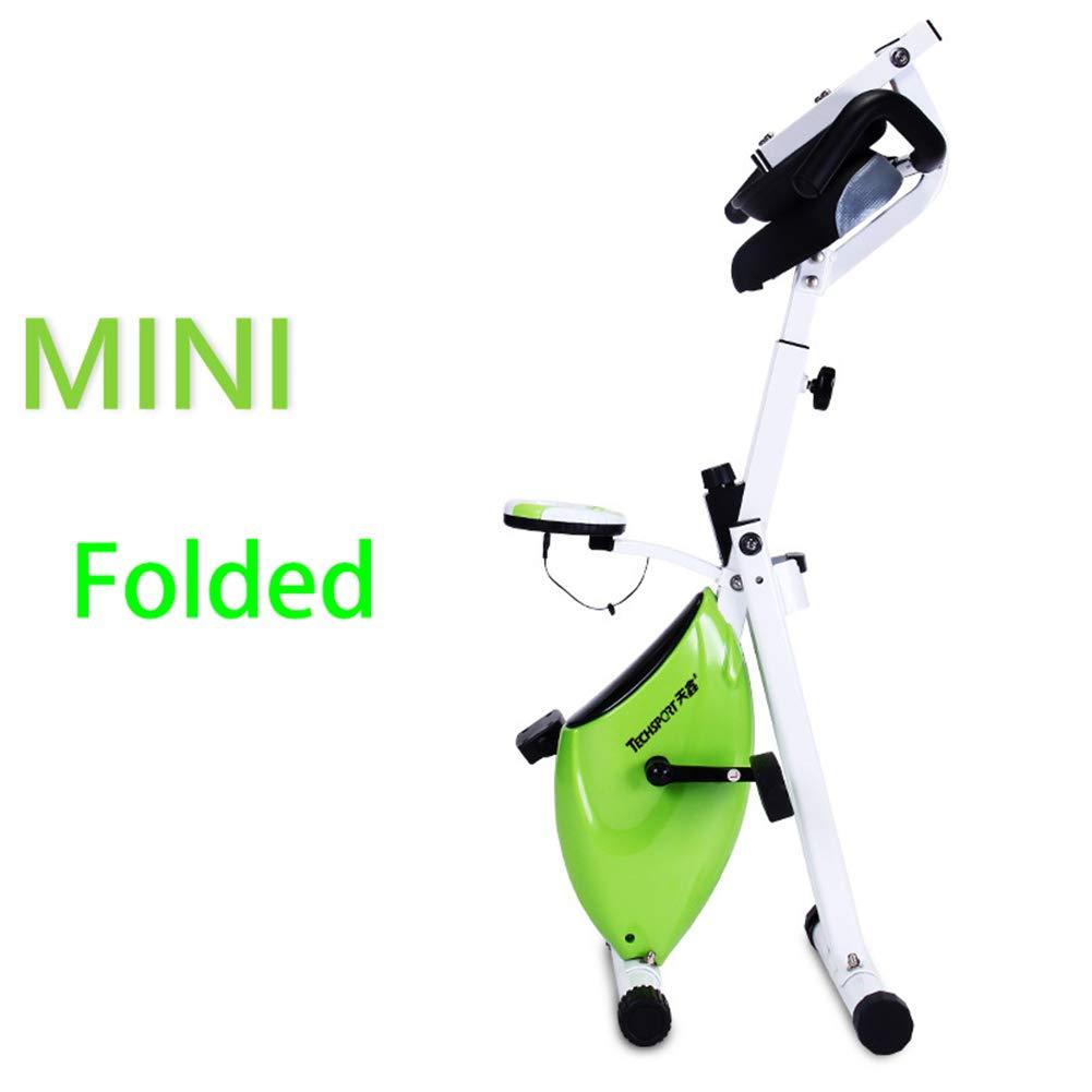 Lcyy-Bike Gefaltete Fahrradtrainer Magnet Widerstand 2,5 Kg Schwungrad Cardio-Training Mit Multifunktionalem Display Einstellbarer Lenker & Sitzhöhe