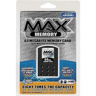Amazon.com: 64MB Max Memory Card PS2: Video Games