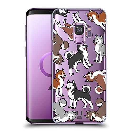 Alaskan Malamute Dog Breed - Head Case Designs Alaskan Malamute Dog Breed Patterns 6 Hard Back Case Compatible for Samsung Galaxy S9