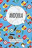 Andorra Travel Journal: 6x9 Travel planner I Road trip planner I Dot grid journal I Travel notebook I Travel diary I Pocket journal I Gift for Backpacker