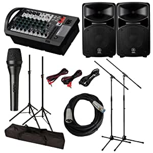 yamaha stagepas 600i 600 i pa system with. Black Bedroom Furniture Sets. Home Design Ideas