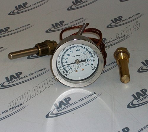 128664-3 Temperature Gauge - Quincy Replacement Part by Industrial Air Power
