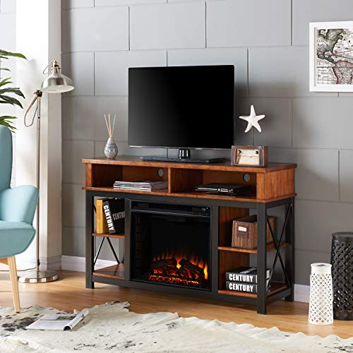 Cheap Southern Enterprises AMZ1539EF Edwards Electric Fireplace Black Black Friday & Cyber Monday 2019