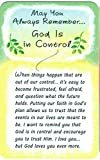 Wallet Cards - May You Always Remember... God Is in Control