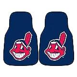 cleveland car floor mat - MLB - Cleveland Indians 2 Piece Front Car Mats