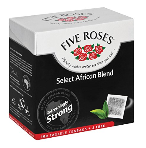 Five Roses Strong Quality Tea, 102 Tagless Teabags ()