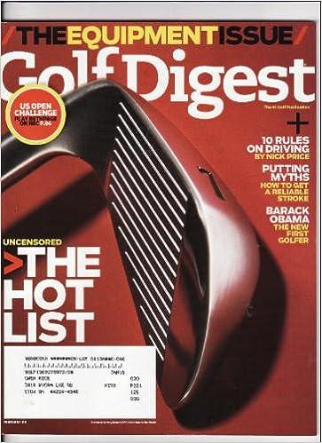 golf digest hot list 2009 drivers