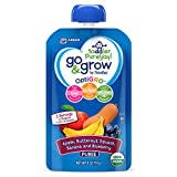 Go & Grow by Similac Fruit and Veggie Pouches with OptiGRO, Apple, Butternut Squash, Banana, Blueberry Puree, For Toddlers, Organic Baby Food, 4 ounces, Pack of 12 Reviews