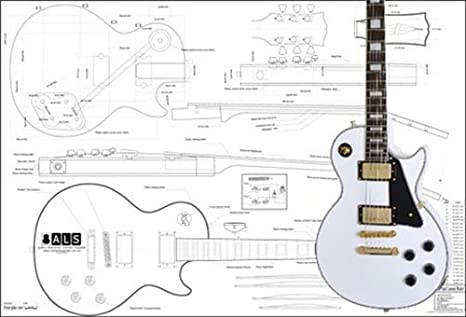 amazon com plan of gibson les paul custom electric guitar full rh amazon com