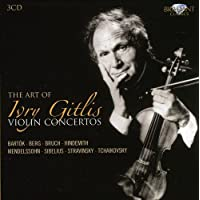 L'Art De Ivry Gitlis : Concertos Pour Violon