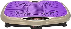 Mopoq Vibrating Machine Shake Machine Slimming Machine, Home Weight Loss Slimming Thin Waist Thin Stomach Lazy Sports Fitness Equipment, With Wireless Remote Control