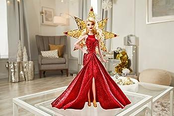 Barbie 2017 Holiday Doll, Blonde Hair 3