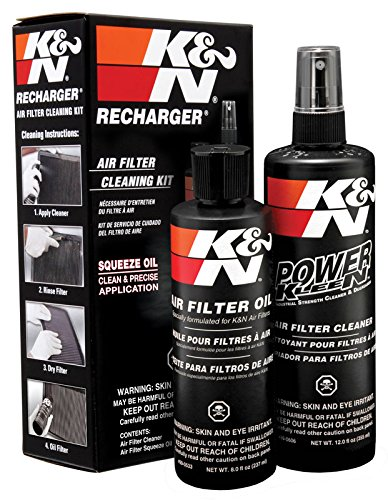 K&N 99-5050 Filter Care Service Kit Squeeze Recharger Kit Air Filter Cleaner