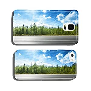 asphalt road and forest cell phone cover case iPhone6 Plus