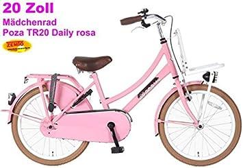 POZA Daily - Bicicleta holandesa para niña (20 pulgadas), color ...