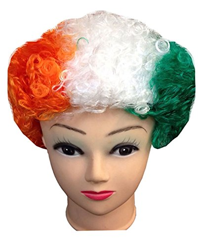 Rimi-Hanger-Irish-England-St-Andrews-Curly-Hair-Wig-Fancy-Funky-Stylish-Dance-Party-Night-Irish-One-Size