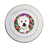 West Highland Terrier Peek-A-Boo-Ceramic Plate