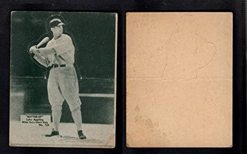 1934 Batter up sterben cuts (Baseball) Card# 124 Luke Appling of the Chicago White Sox VG Condition